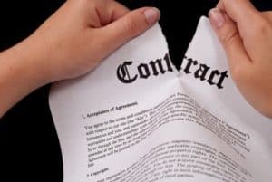 Real Estate Contract Termination